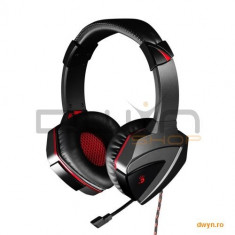 Casti A4TECH Bloody G501 gaming, microfon pe fir, control volum pe casca, 'G501' - Casca PC