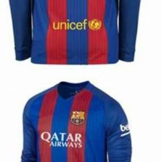 Tricou maneca lunga BARCELONA, 10 MESSI - Tricou echipa fotbal, Marime: L, M, XL, Culoare: Din imagine, De club