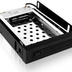 Suport mobil Icy Box 2, 5'' SATA, negru - Rack HDD Raidsonic