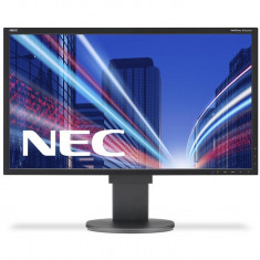 Monitor NEC MultiSync LED EA223WM 22'' wide, DVI, DispayPort, USB, HAS, negru - Monitor LED NEC