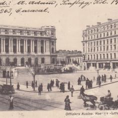 BUCURESTI, CASINO-UL OFITERILOR, CAFENEA REGALA, RESTAURANT MODERN CIRC. 1917 - Carte Postala Muntenia 1904-1918, Circulata, Printata