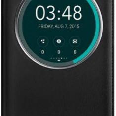 Husa Flip cover Asus ZenFone Selfie ZD551KL 90AC00X0-BCV001 pentru Asus Zenfone Selfie ZD551KL (Negru) - Husa Telefon