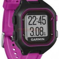 Smartwatch Garmin Forerunner 25 sport, negru/mov