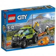 Camion pentru cercetare vulcan LEGO ® City 60121 - LEGO Cuburi