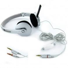 Casti 4World Over-Head 08255 Silver - Casca PC