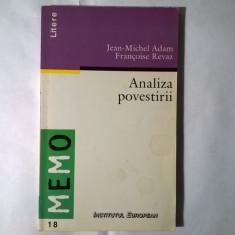J.-M. Adam, F. Revaz - Analiza povestirii - Eseu
