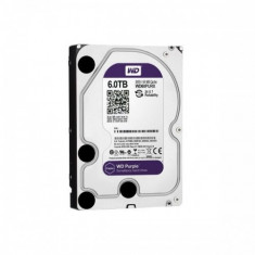 Western Digital HDD intern WD, 3.5', 6TB, PURPLE, SATA3, IntelliPower (5400rpm), 64MB - HDD server