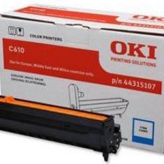 Tambur EP OKI cyan | 20000pag | C610 - Cilindru imprimanta