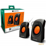 Boxe CANYON CNR-SP20JB (Stereo, 4W, 130Hz-16kHz, Black)