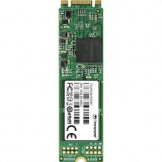 Transcend SSD M.2 SATA 6GB/s, 2280-D2-B-M, 256GB, MLC (read/write; 550/320MB/s)