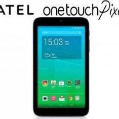 Alcatel Tableta Alcatel OneTouch Pixi 3, TFT 7.0 inch, CPU Quad-Core 1.3GHz, 512MB RAM, 4GB Flash, Wi-Fi, Android 4.4, Volcano Black, 7 inch, Wi-Fi + 3G
