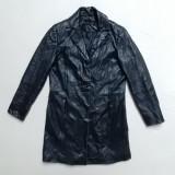 Palton piele naturala de miel Genuine Lamb Leather; marime 36, vezi dim.; ca nou