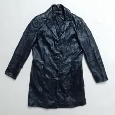 Palton piele naturala de miel Genuine Lamb Leather; marime 36, vezi dim.; ca nou - Palton dama, Culoare: Din imagine
