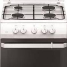 Aragaz Hansa FCMW530009, 4 arzatoare, Rotisor, Metalic, Alb