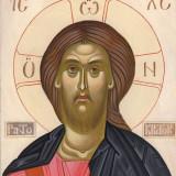 Icoana Iisus Christos 24 x 20 pe lemn