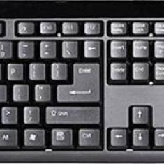 Kit tastatura cu mouse Wireless Spire NOA 401 Negru
