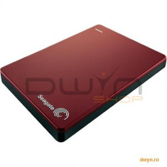 2TB Seagate 2.5' Backup Plus USB 3.0 Metalic Case Ruby Red - HDD extern
