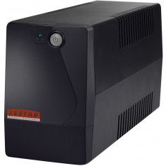 Lestar UPS A-650f 600VA/360W AVR 2xFR BLACK