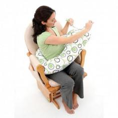 Perna gravide si alaptare DreamWizard 10 in 1 NUVITA 7100 Tiffany - Perna alaptat