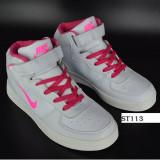 Ghete Nike Force dama - Ghete dama Nike, Culoare: Alb, Marime: 38, 39, 40, 41, 42, Piele naturala