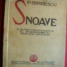 Petre Ispirescu - SNOAVE - interbelica, studiu si note C.Fierascu - Carte Fabule