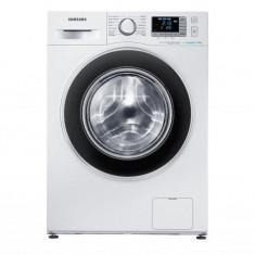 Masina de spalat rufe SAMSUNG WF70F5EBW2W, Clasa energetica A+++, Capacitate 7 kg, 1200 RPM, Incarcare frontala, Ecobubble, Alb