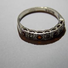 Inel argint cu zirconii - 688