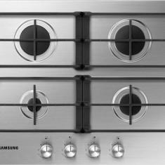 Plita incorporabila Samsung NA64H3010AS, Argintiu, Numar arzatoare: 4, Gaz