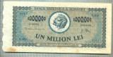A1346 BANCNOTA-ROMANIA- 1000000 LEI-16APRILIE1947-SERIA 0492-starea care se vede