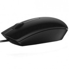 Mouse Dell MS116 USB 3-button Optical Mouse, Black, 570-AAIS