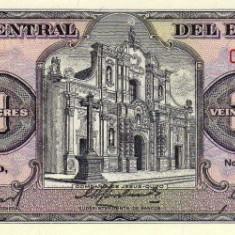 Ecuador 20 Sucres 22.11.1988 - Serie LS, P-121A UNC !!! - bancnota america
