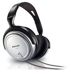Cască Philips SHP2500, Casti Over Ear, Cu fir, Mufa 3, 5mm, Active Noise Cancelling