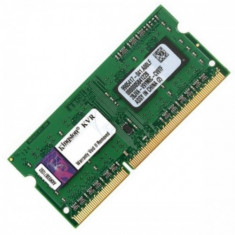 Kingston Memorie RAM notebook Kingston, SODIMM, DDR3L, 2GB, 1600MHz, CL11, 1.35V - Memorie RAM laptop