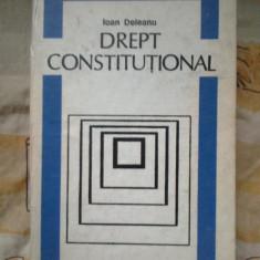N2 DREPT CONSTITUTIONAL - IOAN DELEANU - Carte Drept constitutional
