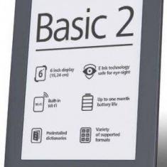PocketBook Basic 2 614 eBook reader, gri