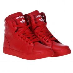 Ghete - Adidas - Adidasi barbati Nike, Marime: 42, 43, 44, Culoare: Rosu, Textil