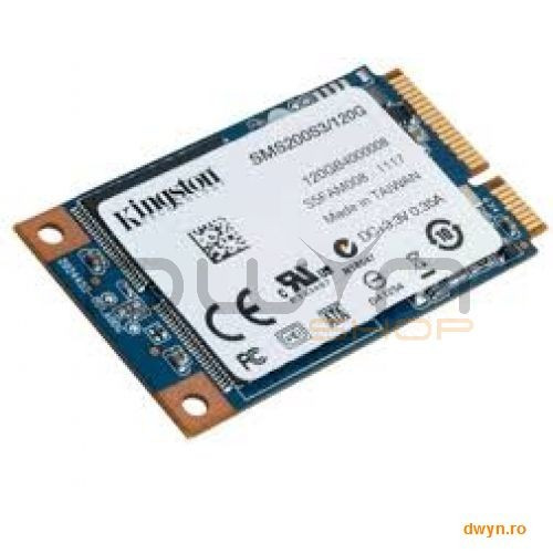 Kingston SSDNow 120GB mS200 mSATA foto mare
