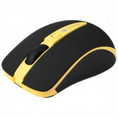 CANYON 2.4GHz Wireless Optical mouse with DPI 1000/1600 (Yellow)