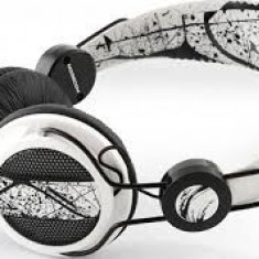Căşti Mode Com MC-400, Casti On Ear, Cu fir, Mufa 3, 5mm, Active Noise Cancelling