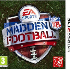 Madden Nfl Football Nintendo 3Ds Electronic Arts