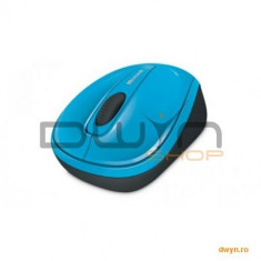 Mouse Microsoft Mobile 3500, Wireless, Blue Track, USB, albastru L2, ambidextru, GMF-00271