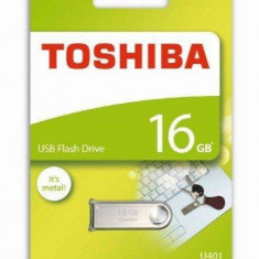 "Toshiba Toshiba ""Owari"" 16GB USB2.0 fém házas pendrive (THN-U401S0160E4) - Stick USB"