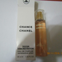 NOU!TESTER 45 ML- CHANEL CHANCE -SUPER PRET, SUPER CALITATE! - Parfum femeie Chanel, Apa de parfum