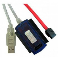Adaptor 4World USB 2.0 la IDE/SATA Combo 2.5'' si 3.5'' cu AC - Adaptor interfata PC