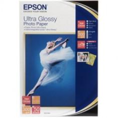 Epson Epson Ultra Glossy hartie foto 13x18cm - 50 coli - 300g/mp (S041944) - Hartie foto imprimanta
