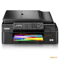 Brother MFCJ200YJ1, Multifunctional inkjet A4 (print/copy/scan/fax), viteza printare: 11 imp mono - Imprimanta cu jet