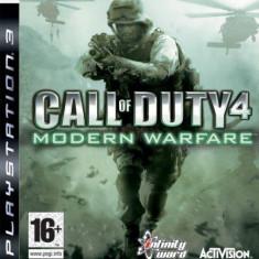 Call of Duty 4 - Modern Warfare PS3 - Jocuri PS3 Activision