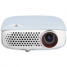 Videoproiector LG PW800 Jelly Skin, TV Tuner DLP, WXGA 1280x800, 800 lumeni, 100.000:1
