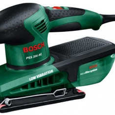 BOSCH Bosch PSS 200 AC + hârtie (P120) redtop - Rindea electrica