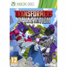 Activision Joc software Transformers Devastation Xbox 360